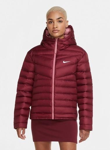 Nike Nike CU5094-638 Bordo Kadın Mont Bordo